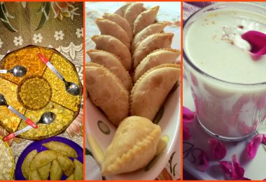 Holi best food items and the necessity of the items in the festival