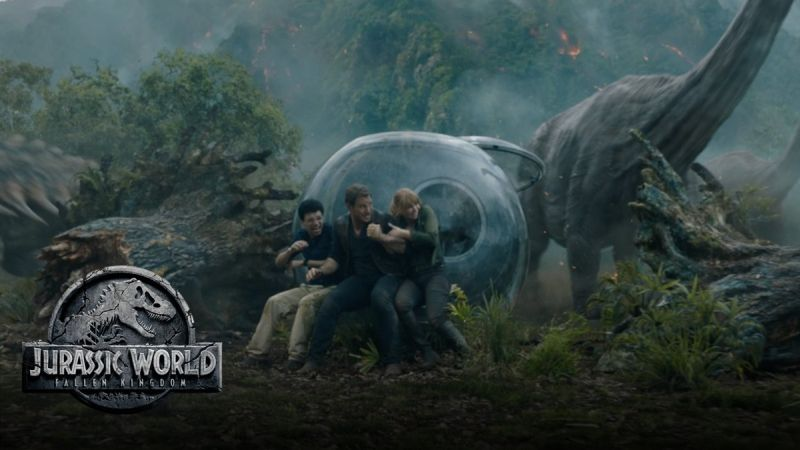 Jurassic World: Fallen Kingdom, Teaser breakdown terrifyingly bad