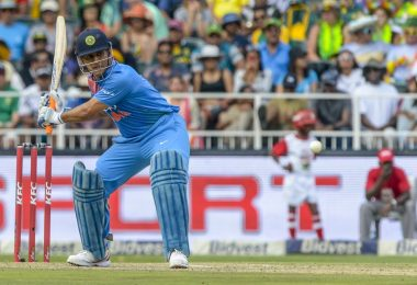 MS Dhoni completed his 2nd T20I Half-century as a Wicket-Keeper