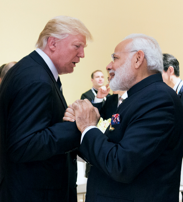 Donald Trump and Prime Minister Narendra Modi discuss Maldives, North Korea in a phone conversation