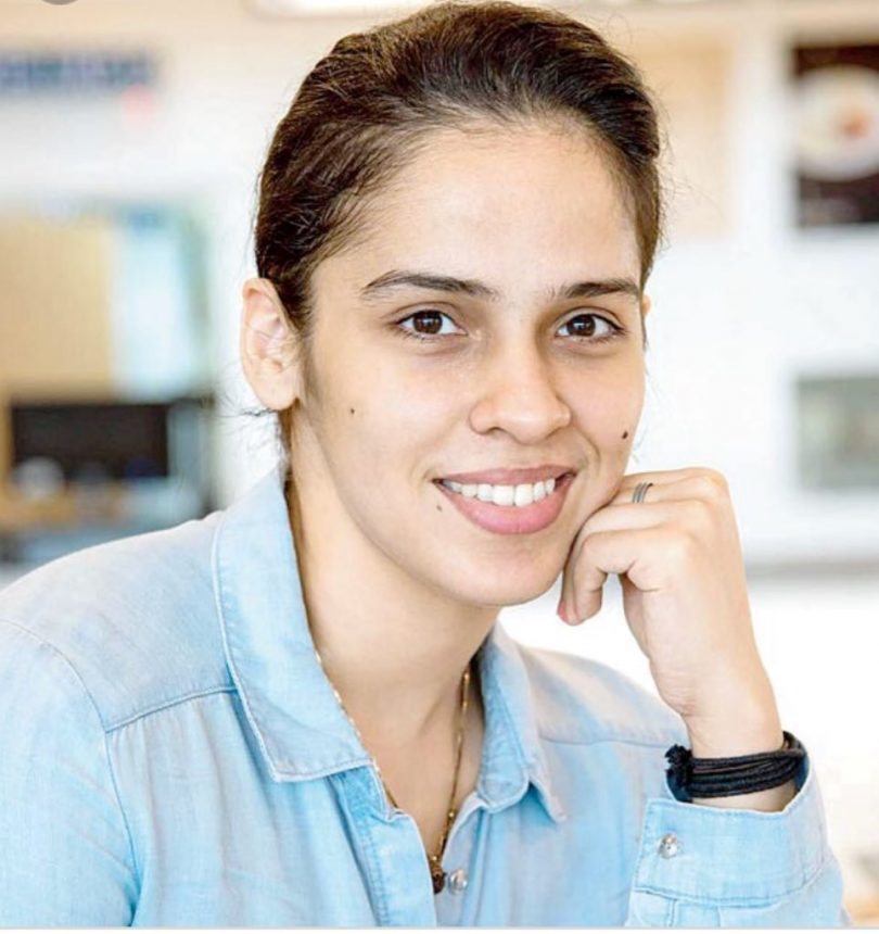 Indian Badminton star Saina Nehwal completed 7 million followers on Twitter