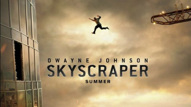 Dwayne Johnson's 'Skyscraper' teaser out, raining hell in and on film