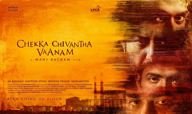 Mani Ratnam's latest venture titled 'Chekka Chivantha Vaanam' starring Arvind Swamy and STR
