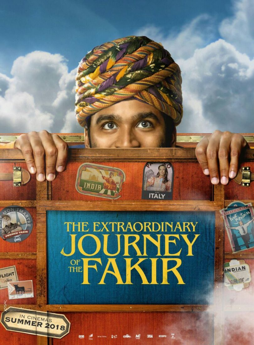 Dhanush's first international film 'The Extraordinary Journey of The Fakir' poster and release date out