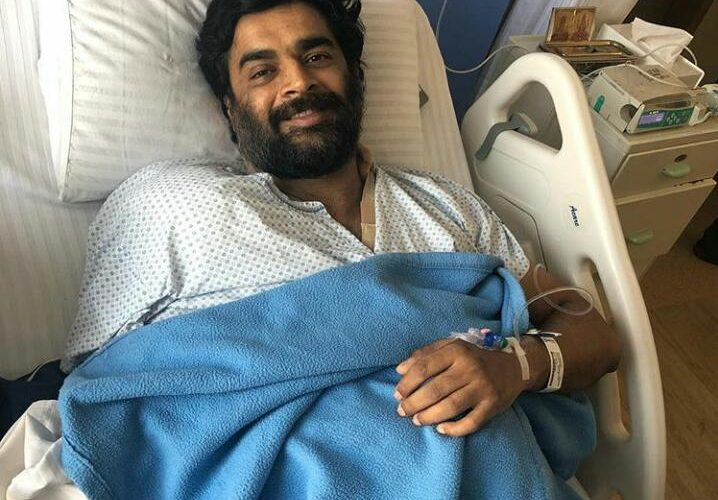 R. Madhavan's shoulder surgery successful, on recovery now!