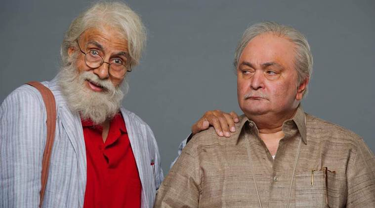 Amitabh Bachchan and Rishi Kapoor starrer '102 Not Out' to release on 4 May 2018