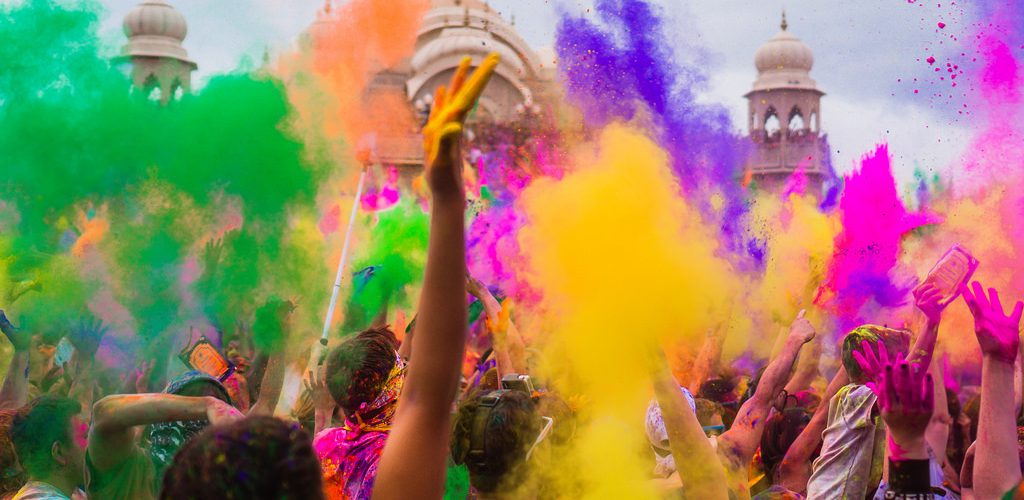 Image result for Holi 2018: India Celebrates Festival of Colours; See Pictures