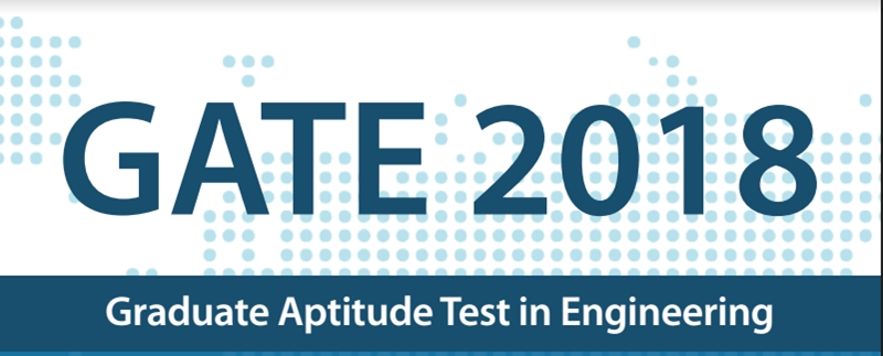 GATE 2018 exam Check details at gate.iitg.ac.in