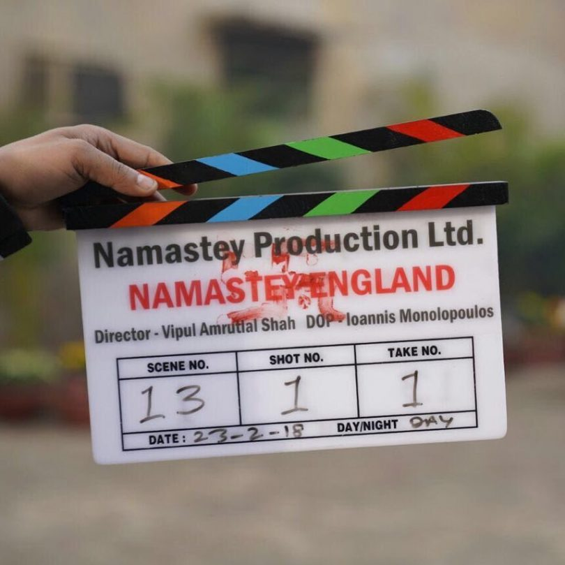 Arjun Kapoor and Parineeti Chopra start shooting for 'Namastey England'