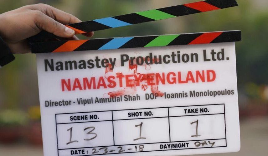 Parineeti Chopra unveils the poster of 'Namastey England'