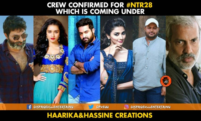 NTR Jr. to star with Shraddha Kapoor and Pooja Hegde in 'NTR 28'