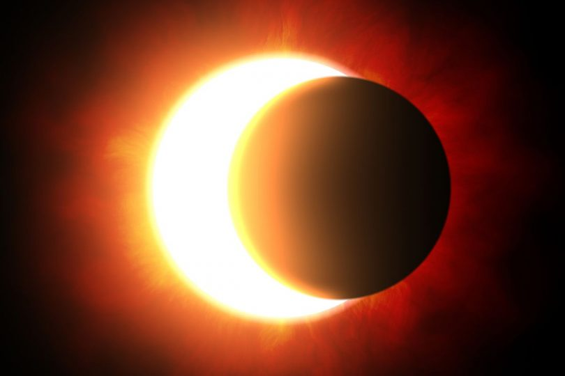 Partial Solar Eclipse on February 15, 2018