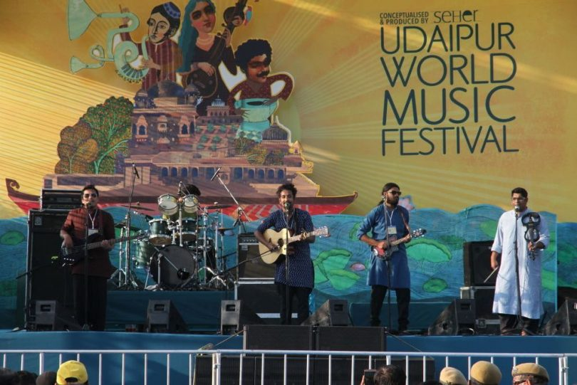Udaipur Third World Music Festival edition is a treat for artist