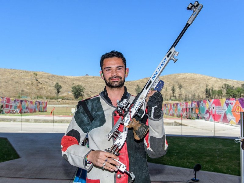 ISSF Shooting World Cup 2018, Akhil Sheoran wins gold medal at 50m rifle