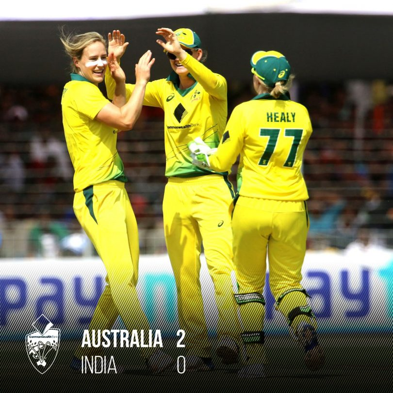 ICC Championship match 2018, Australia beat India by 60 runs and won the One-Day series