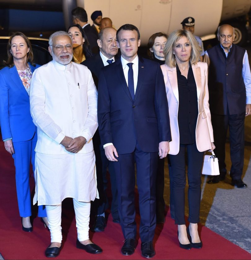 French President Emmanuel Macron visits India, wants India to become France's best partner in Europe