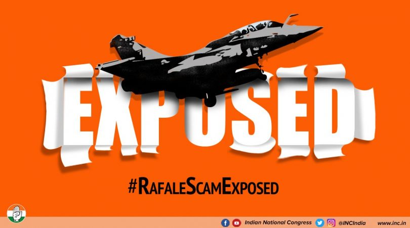 Rafale scam: Congress claims other countries paid less, demands answers from Modi