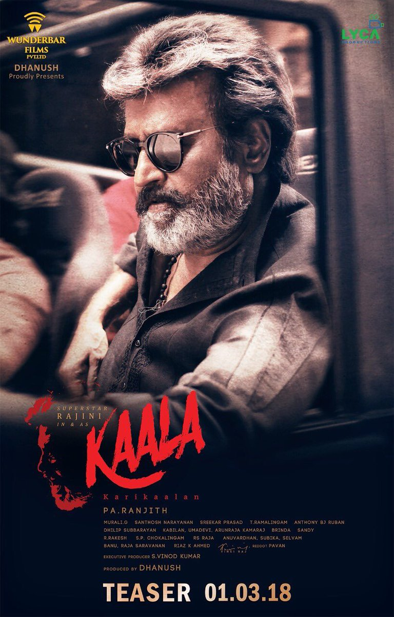 Kaala teaser released: Rajinikanth is going to blow your minds