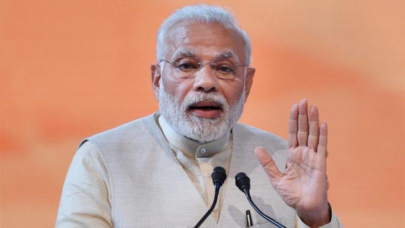Narendra Modi speaks at Youth Convention in Karnataka