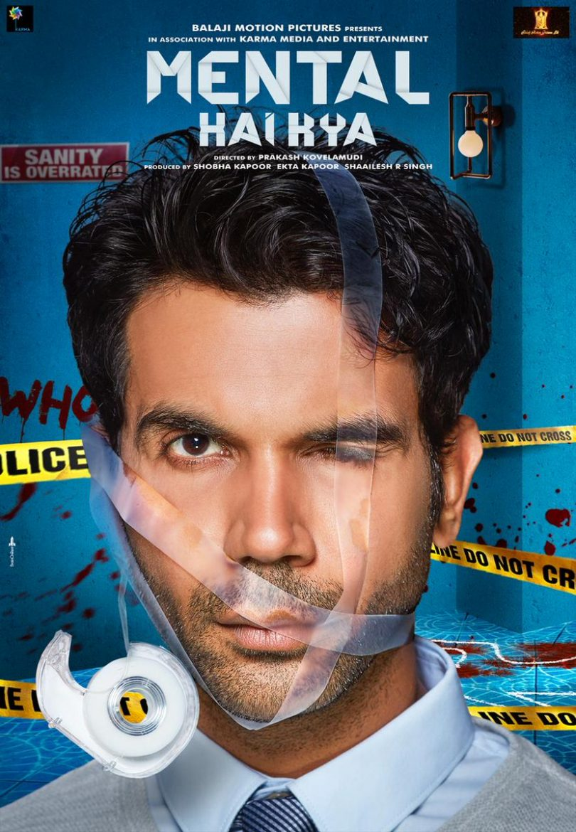 Mental Hai Kya new posters show the wacky side of Rajkumar Rao and Kangana Ranaut