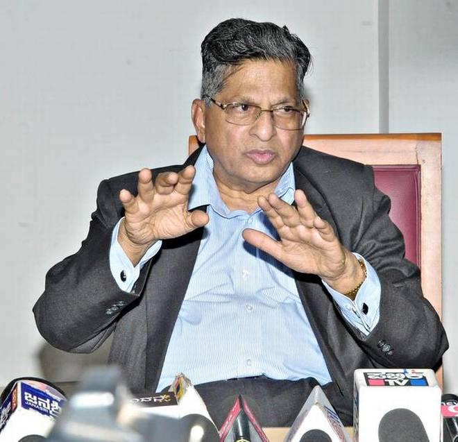 Justice Vishwanath Shetty stabbed in Lokayuta office in Karnataka, in critical condition