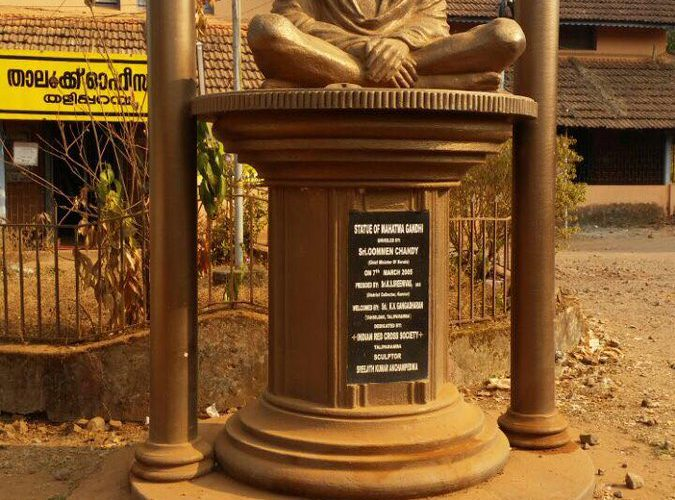 Gandhi, Ambedkar's statues defaced in Chennai/Kannur, one held