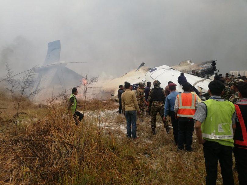 Bangladesh plane with 67 passengers crash lands at Nepal Airport, Kathmandu