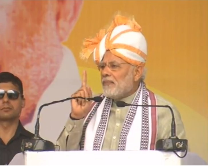 Narendra Modi in Manipur, Inaugurates the 105th Indian Science Congress