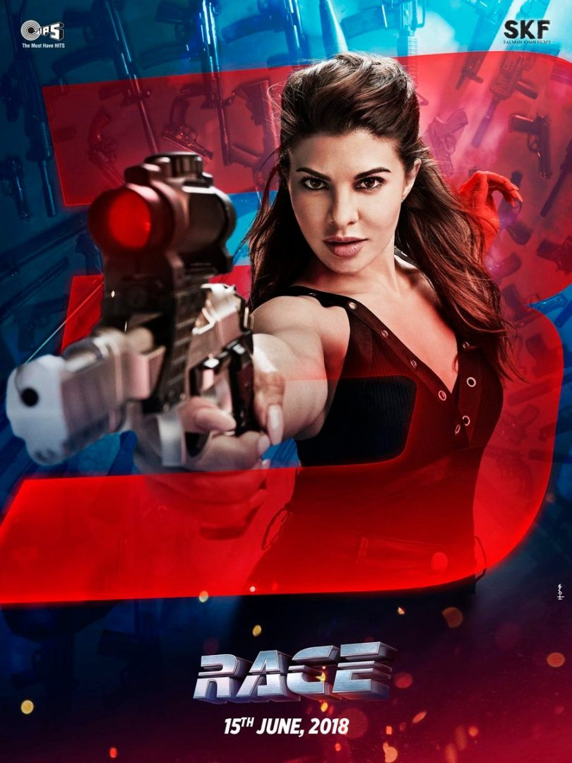 Race 3: Jacqueline Fernandez as Jessica first poster revealed
