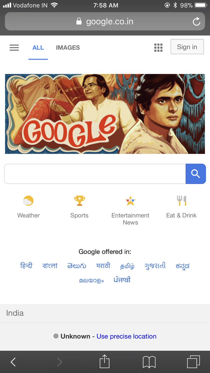 Farooque Shaikh's birth anniversary, the actor gets his google doodle tribute