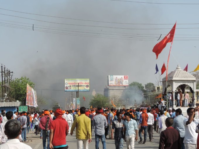 Aurangabad: CRPF delpoyed to control clashes between communities post Ram Navami