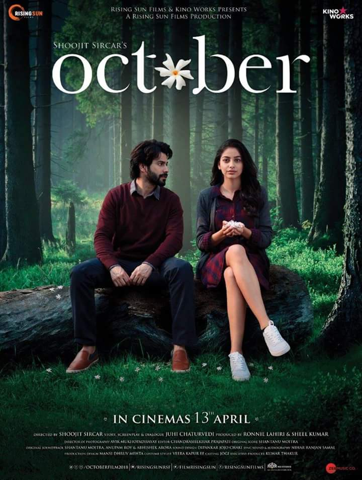 October movie: Full Music Audio Jukebox released, with voices of Sunidhi Chauhan, Monali Thakur and Rahat Fateh Ali Khan