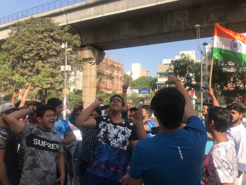 CBSE Paper leak: Coaching tutors questioned, students hold protest before the CBSE office building
