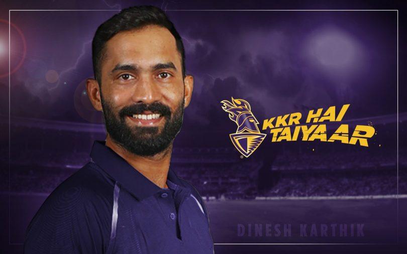 Dinesh Karthik will lead the Kolkata Knight Riders in IPL 2018