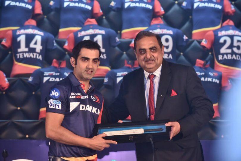 Delhi Daredevils appointed Gautam Gambhir as a captain for IPL 2018