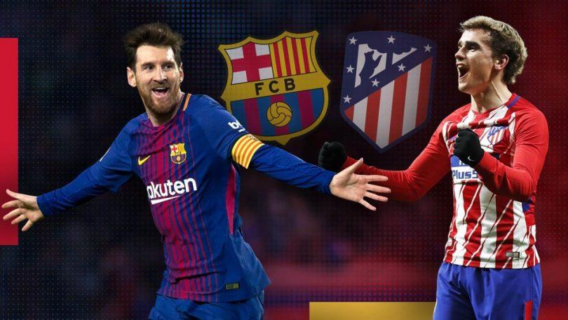 La Liga 2018: Atletico Madrid vs Barcelona, Match preview and team news