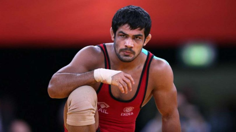Sushil kumar's name missing from 74 KG Wrestling Catageory