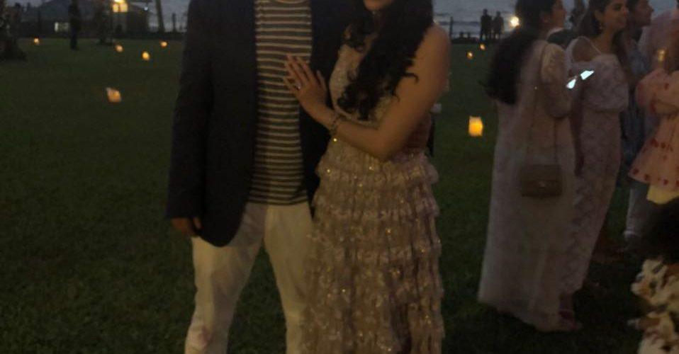 Mukesh Ambani's son Akash engaged