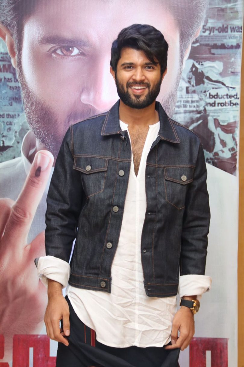Vijay Deverakonda starrer 'NOTA' media launch of first look