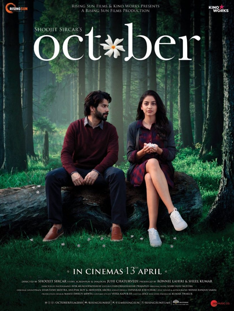 Varun Dhawan lauched new poster of 'October' and it is devastatingly beautiful