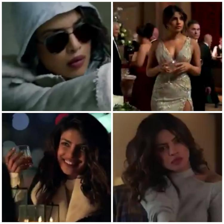 Priyanka Chopra as Alex Parrish in 'Quantico' season 3