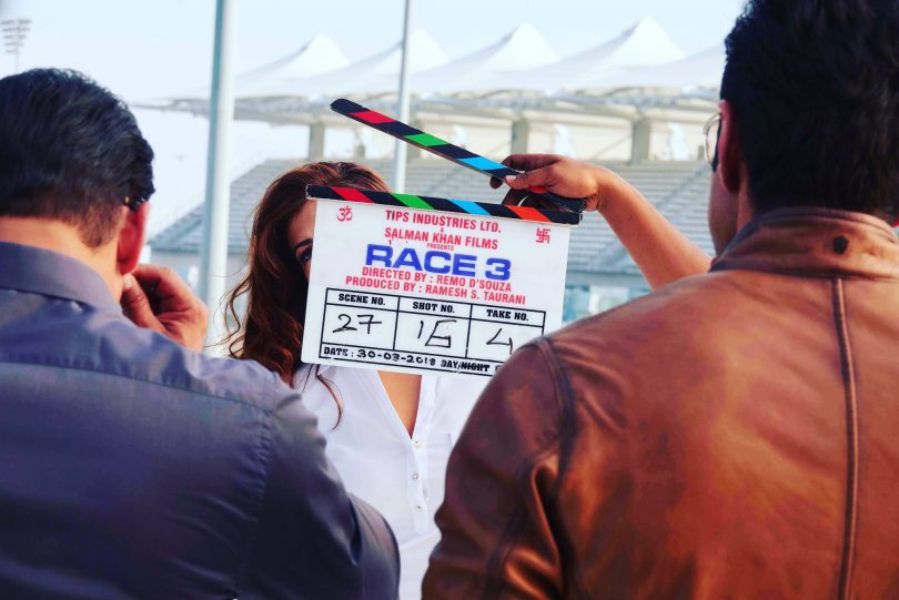 Salman Khan starrer 'Race 3' set pictures floats on twitter