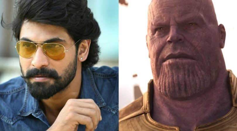 Rana Daggubati to play Thanos in Avengers: Infinity War