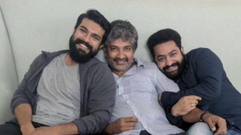 SS Rajamouli announces 'RRR' with Ramcharan and NTR