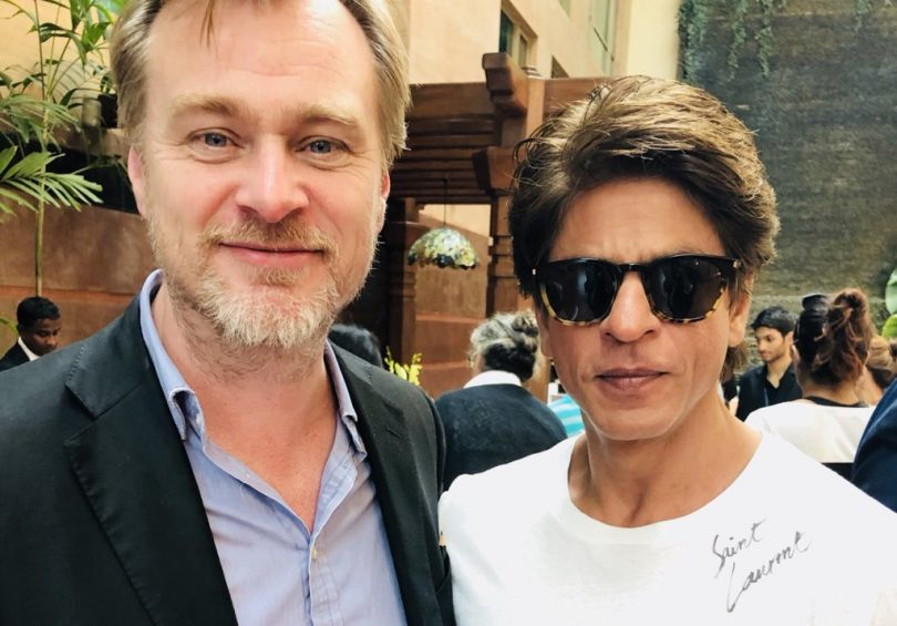 Shahrukh Khan met Christopher Nolan in Mumbai and internet is broken