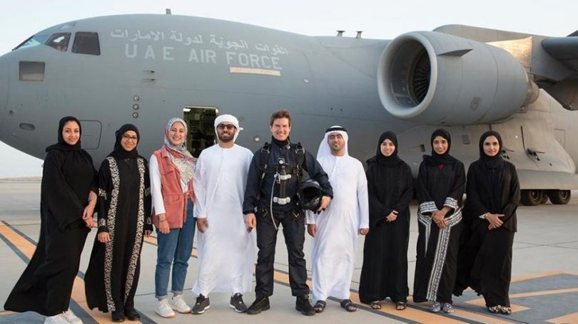 Tom Cruise wraps 'Mission Impossible: Fallout' in Abu Dhabi