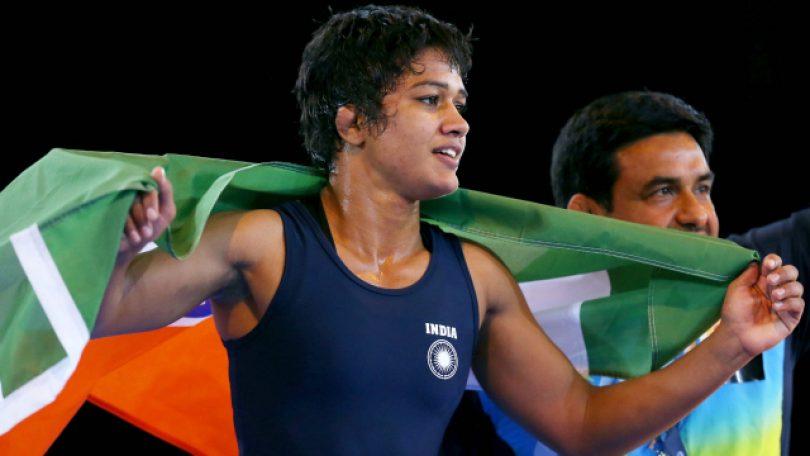 CWG 2018: Wrestler Babita Kumari Phogat wins Silver medal in Women's Freestyle 53 kg Nordic