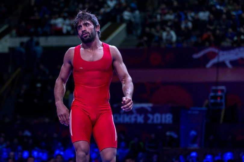 CWG 2018: Wrestler Bajrang Punia wins gold in 65kg, India's medal tally rises to 36