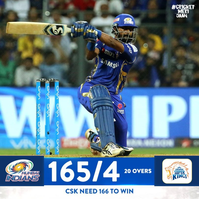 IPL 2018 Results and Updates, CSK vs MI, Bravo wins the thrilling contest