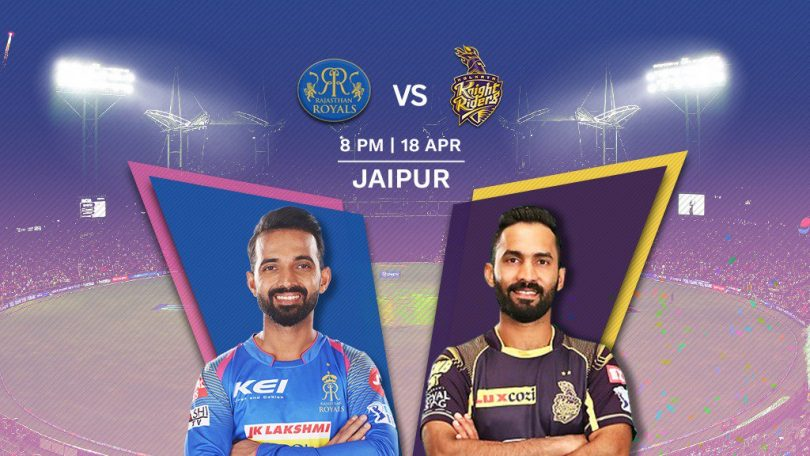 IPL 2018, Rajasthan Royals vs Kolkata Knight Riders match preview: RR would like to register their third win